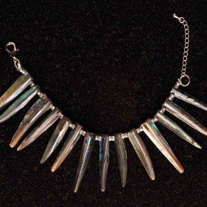 #156 Abalone Shell Tribal Style Bracelet.