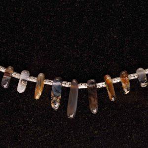 #175 Raw Agate Bracelet