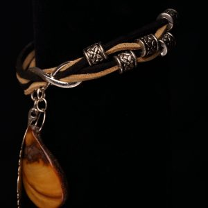 #182 Gold Plated Quartz Crystal Bracelet