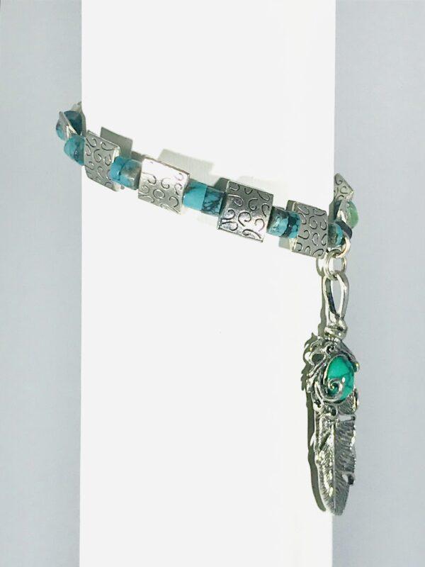 Jade Beaded Native Bracelet