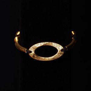 Gold Tone Western Style Bracelet
