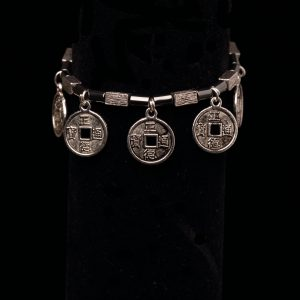 #202 Haematite And Feng Shui Amulet Beaded Bracelet