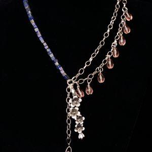 #68 Asymmetrical Lapis Lazuli Necklace