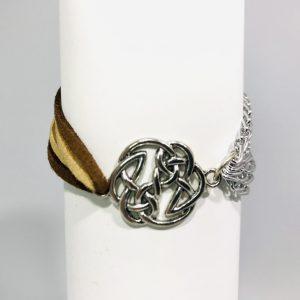 Asymmetrical Celtic Knot Bracelet