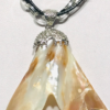Necklace With Mother of Pearl Pendant