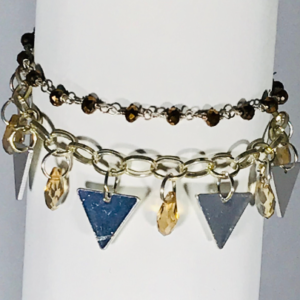 Bracelet With Stainless Steel Pendants