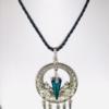 Dream Catcher Necklace With Swarovski Crystal