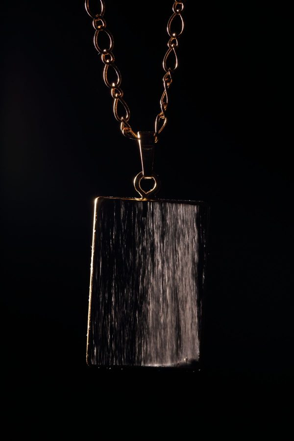 #257 Ice Obsidian Short Necklace