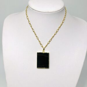 Ice Obsidian Short Necklace