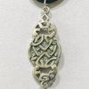 Verdigris Patina Mycenaean Style Arrowhead Necklace