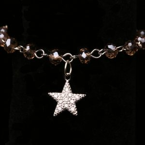 #289 Bracelet With Cubic Zirconia Star