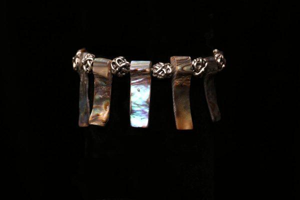 #305 Abalone Shell Tribal Bracelet