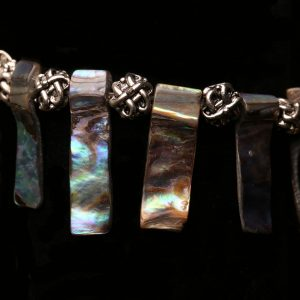 #305 Abalone Shell Tribal Bracelet
