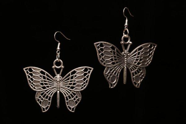 #294 Large Butterfly Earrings
