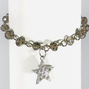 Bracelet With Cubic Zirconia Star