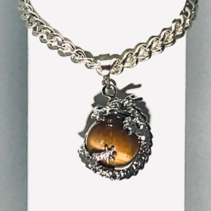 Dragon Bracelet With Tigers Eye