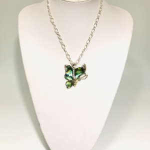 Butterfly Necklace in Abalone shell
