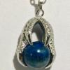Necklace With Lapis Lazuli Pendant