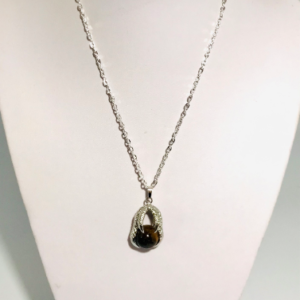 The Necklace with Tiger's Eye Pendant
