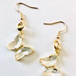 Butterfly  Karat Gold Earrings