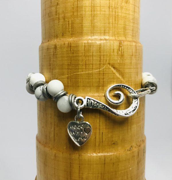 Howlite Crystal Goddess Bracelet