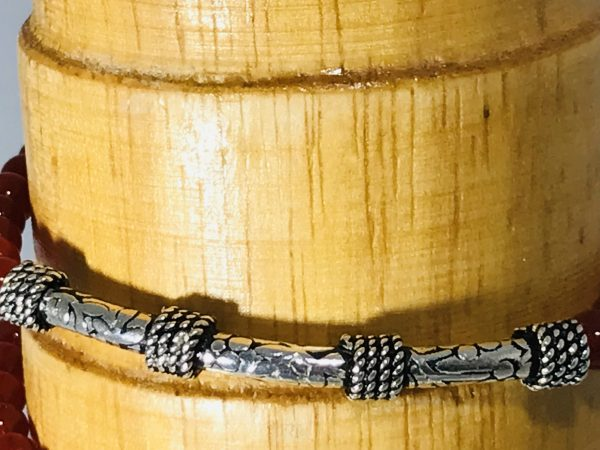Wrap Around Red Carnelian Bracelet