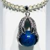 Lapis Lazuli Claw Bracelet